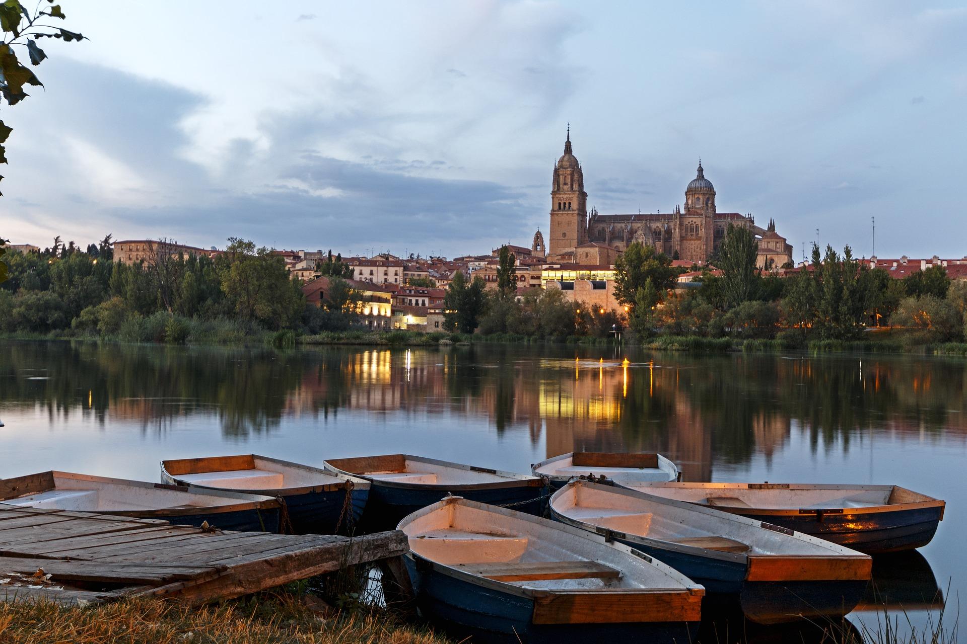 Salamanca, en busca de la rana