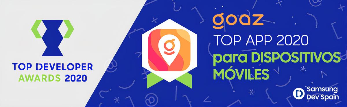 GOAZ, mejor app para móviles según Samsung Dev Spain